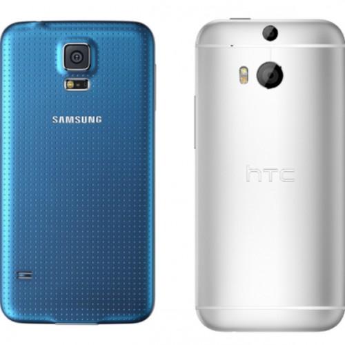 Samsung Galaxy S5 versus HTC One (M8)