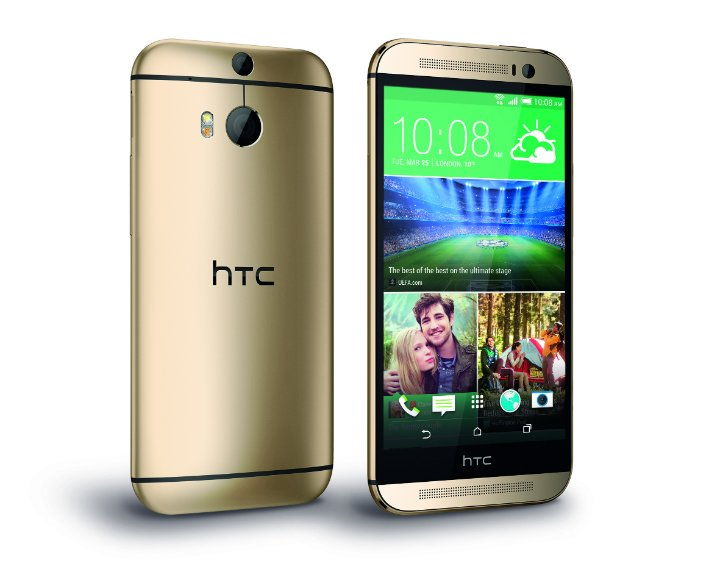 HTC One M8 Gold 2