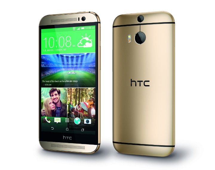 HTC One M8 Gold