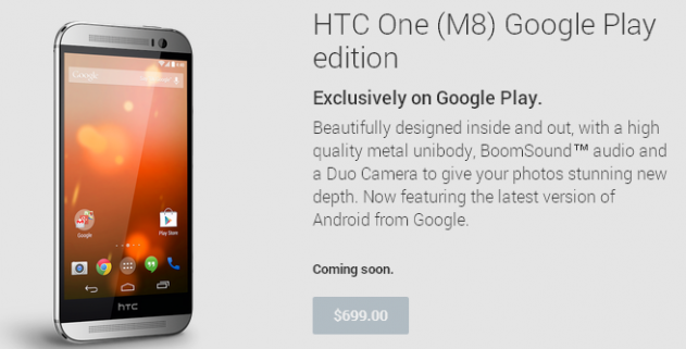 HTC One  M8  Google Play edition - Devices on Google Play