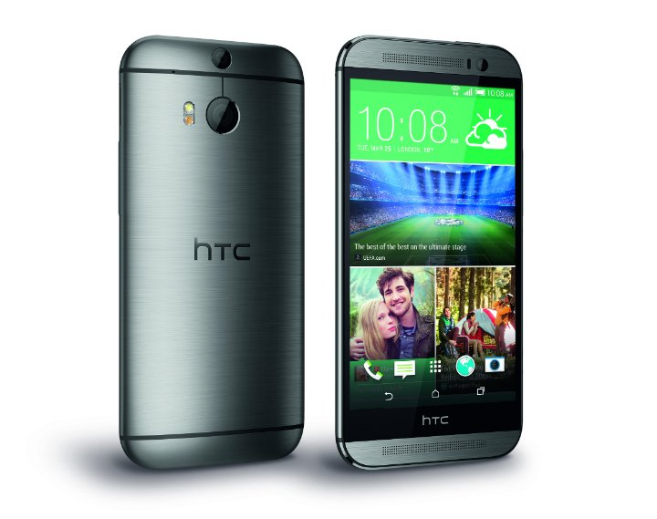 HTC One M8 Gray 2