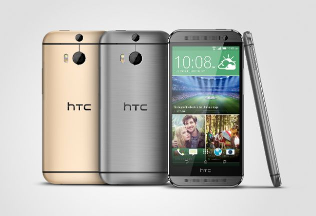 HTC One M8 Gray Gold