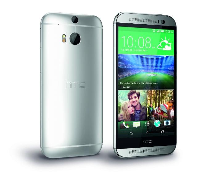 HTC One M8 Silver 4