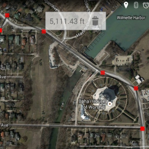 Measure distances and areas easily with Maps Measure [App of the Day]