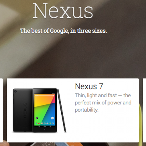 Nexus 5, 7 and a Chromecast are now available in even more European countries