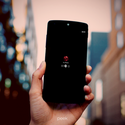 Paranoid Android introduces Peek, its own version of active notifications