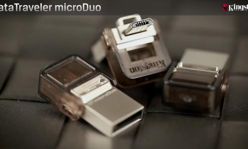 Kingston DataTraveler microDuo answers a desperate need