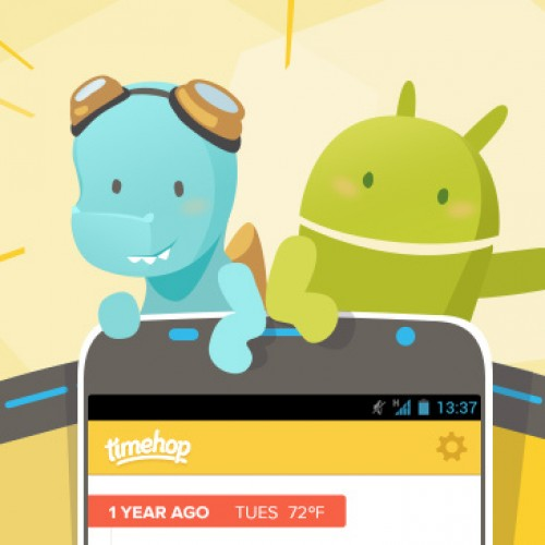"Timehop comes to Android – ""Did I really say that?"" [App of the Day]"