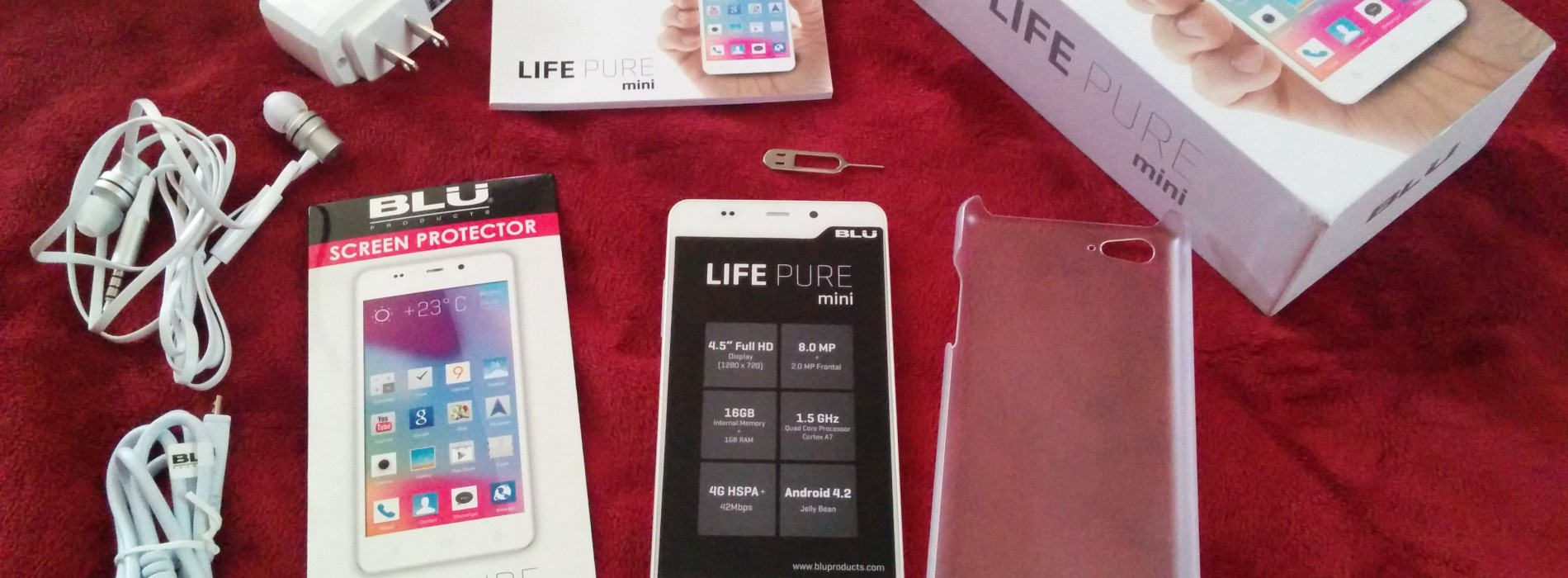 Blu Life Pure mini first impressions and review