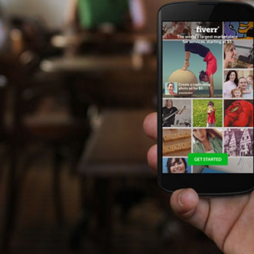 Fiverr arrives in gorgeous new Android app experience