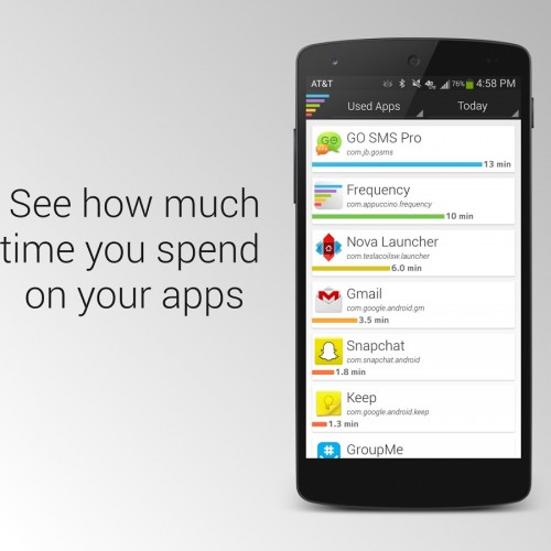 Monitor which apps consume your time with Frequency [App of the Day]