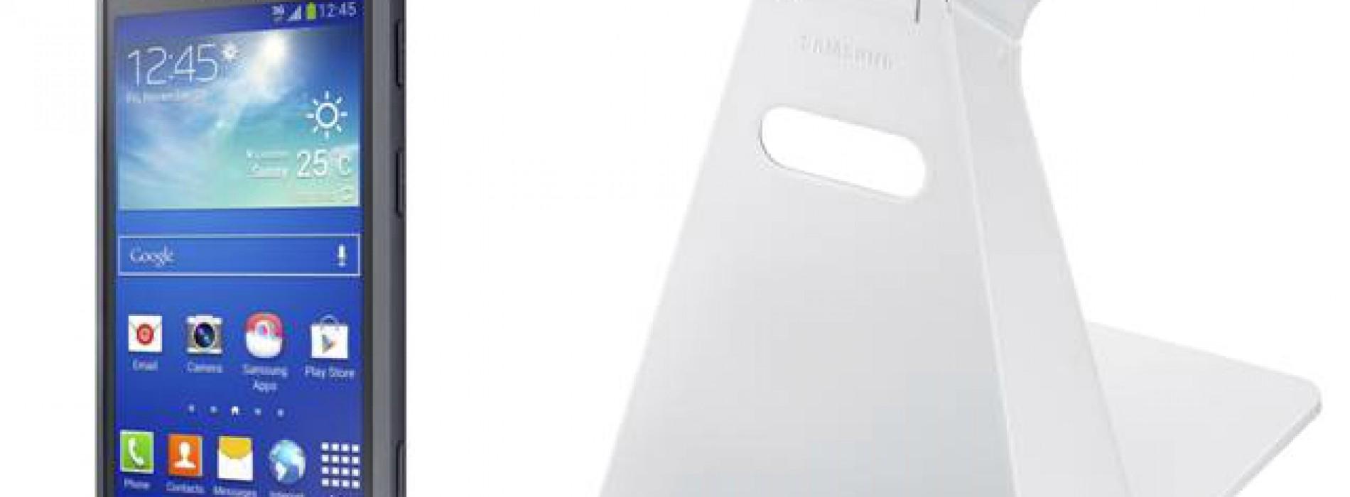 Galaxy Core Advance new accessibility accessories