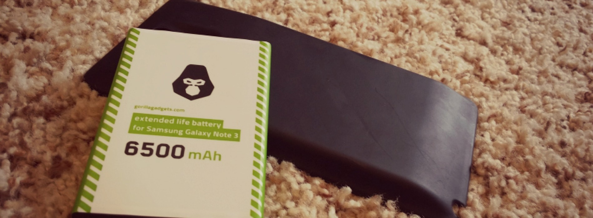 Gorilla Gadgets extended life battery (6500mAh) for Galaxy Note 3 review