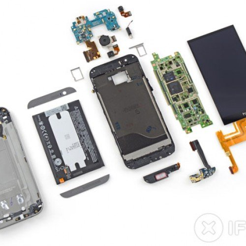 HTC One M8 teardown is just as hard to repair as the old one