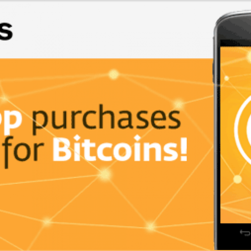 Use Bitcoins for in-app purchases with InAppCoins for Android