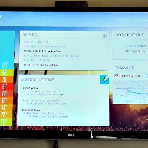 Morning dashboard concept for Chromecast could be future of Google Now