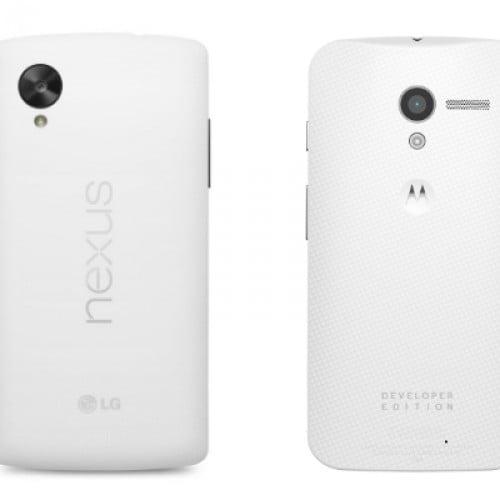 Samsung Galaxy S5 versus Moto X