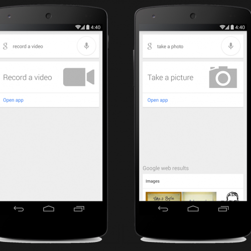 'Ok Google, Take a Picture' Goes Live on Google Search App