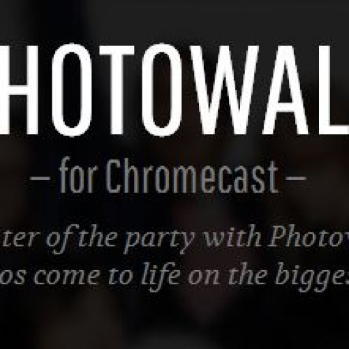 "Google releases Photowall app ""experiment"" for Chromecast"