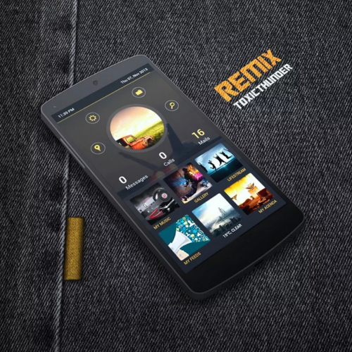 Get This Look: 'Remix' Zooper Widget