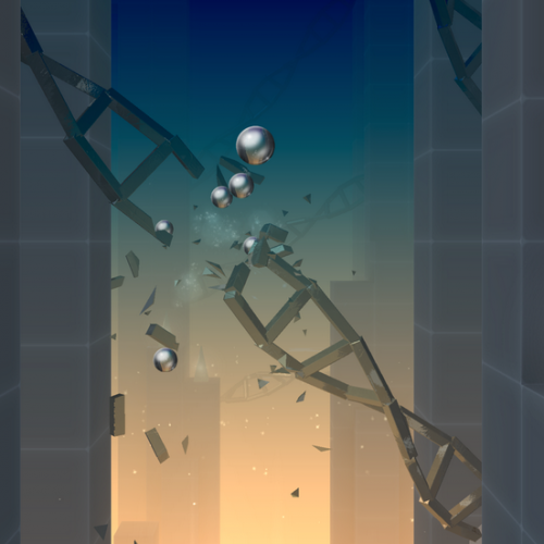 Smash through a beautiful futuristic dimension with Smash Hit [App of the Day]