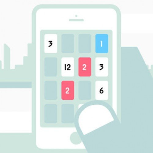 Threes! addictive number game available on Google Play