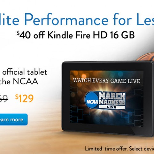Amazon shaves up to $40 off Kindle Fire HD tablets for limited time
