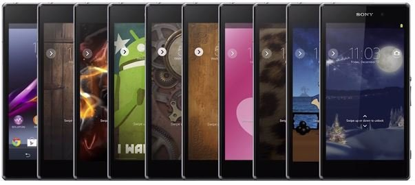 sony offering downloadable themes for xperia smartphones