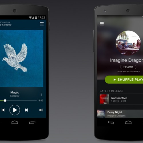 Spotify for Android updated to provide an even better user experience