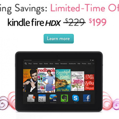 Amazon slashes Kindle Fire HD price to $119 for limited time