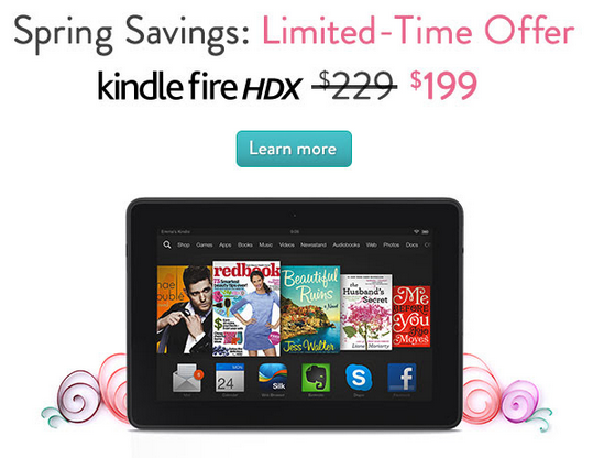 30 Off Kindle Fire HDX   scott androidguys.com   Android Guys Mail