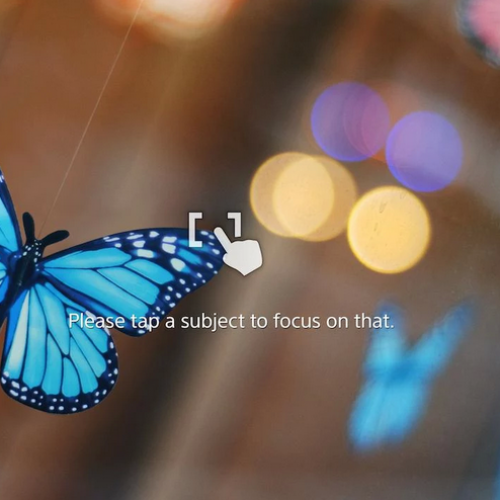 Sony background defocus app released to the Play Store