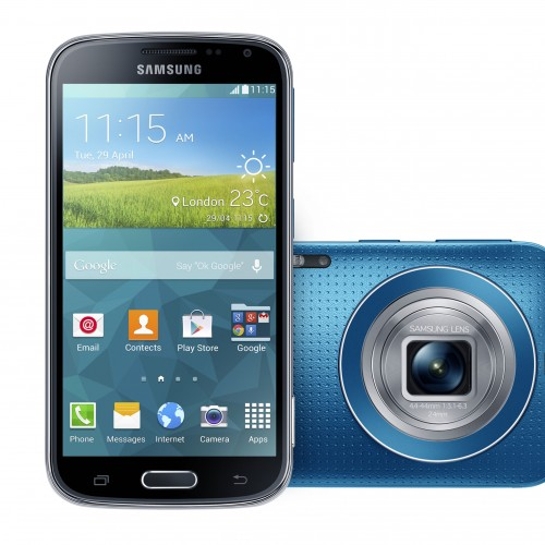 Samsung introduces 20.7-megapixel Galaxy K Zoom