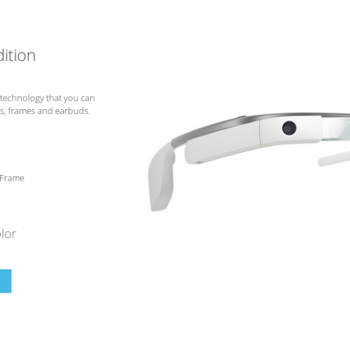 "Prospective Google Glass buyers can ""try on"" before buying"