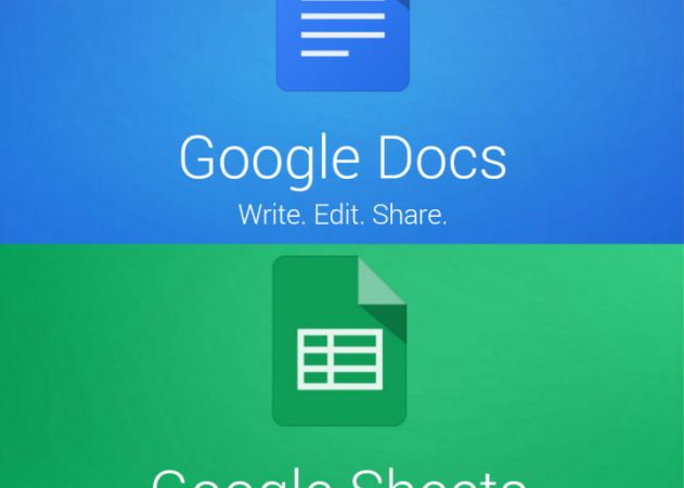 Google Docs and Sheets