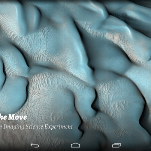 HiRise Muzei brings high resolution images of Mars to your wallpaper [App of the Day]
