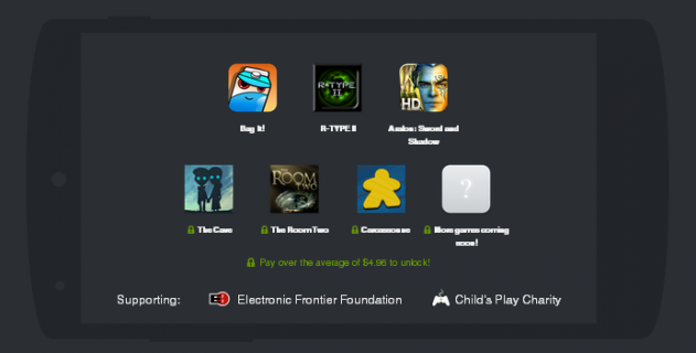 Humble Mobile Bundle 5  pay what you want and help charity