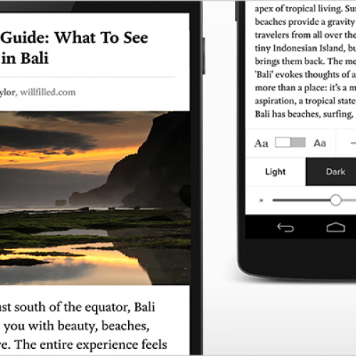 Pocket 5.4 introduces immersive reading