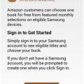Samsung for Kindle