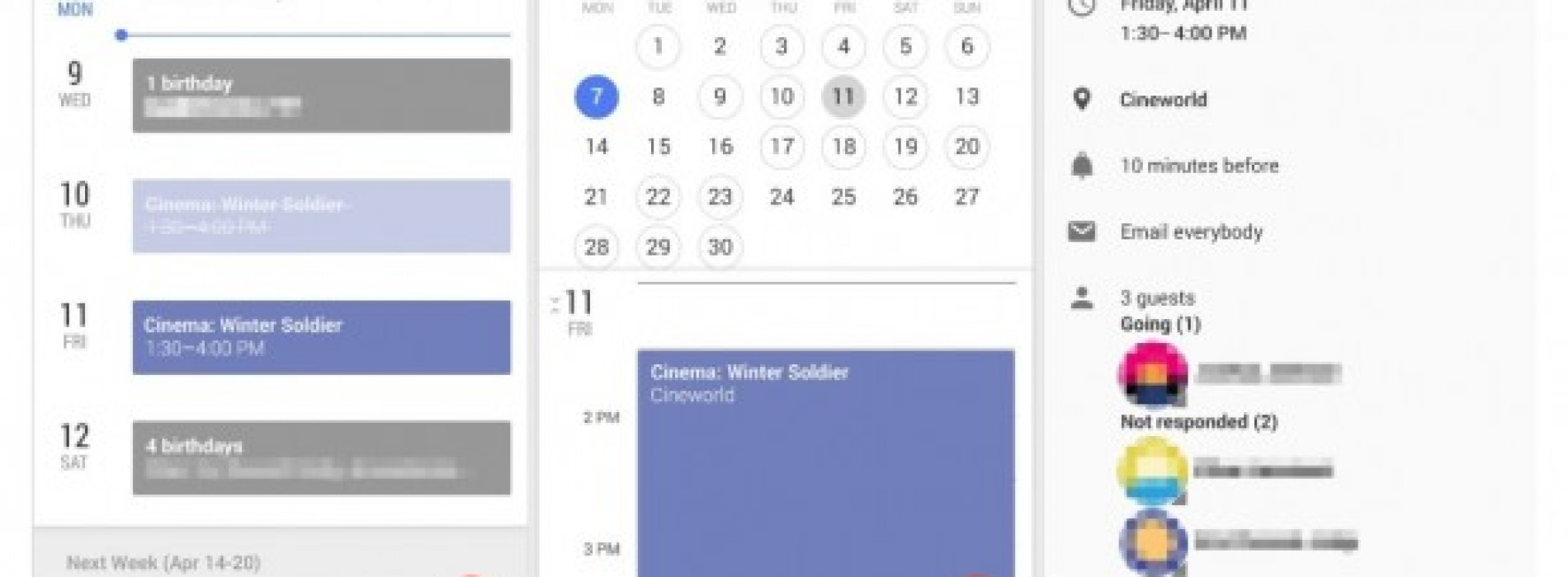 Google is testing new calendar and Gmail features