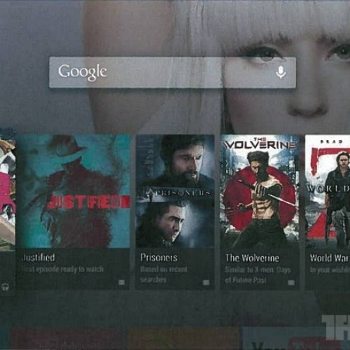 Android TV interface and details leaked