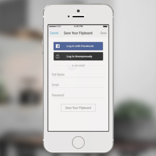 Facebook debuts anonymous and selective login features