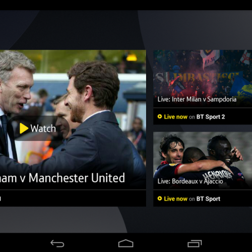 Chromecast support coming to BT Sport on Monday