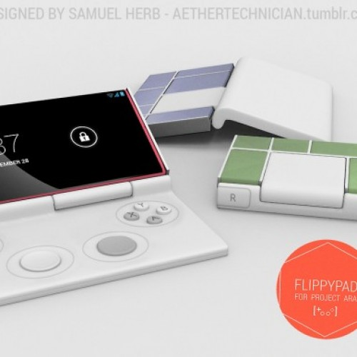 Flippypad, a Project Ara concept gamers could get behind