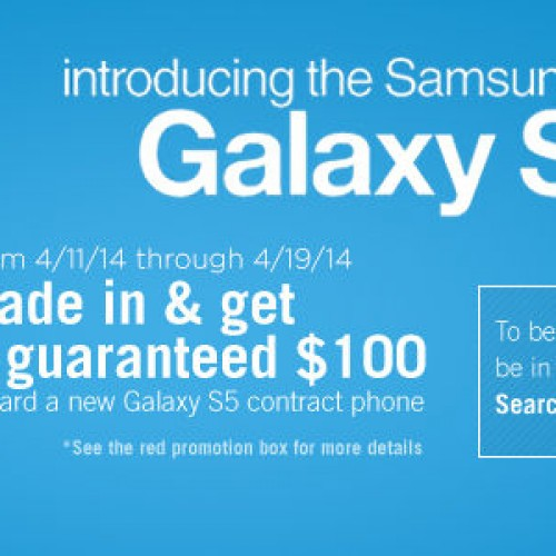 Buy the Samsung Galaxy S5 for $100 at Target with trade-in