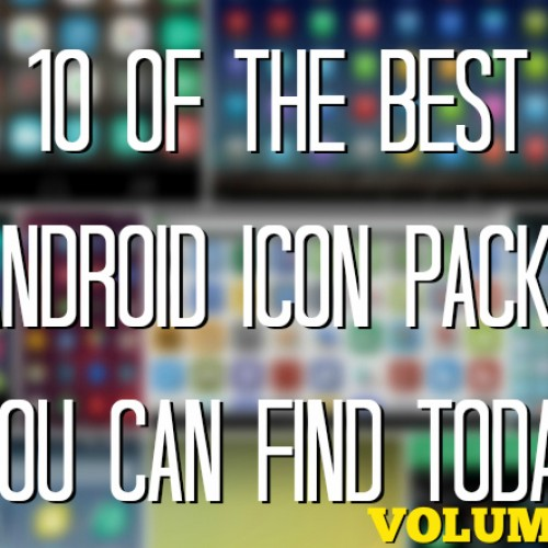 10 of the best Android icon packs you can find today (Volume 8)