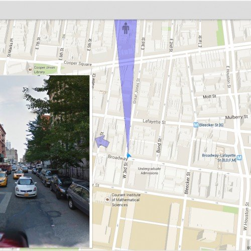 Instago Map Street View: A simple app with great potential