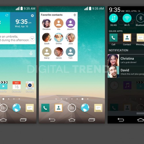 Leaked Screenshots Show Off New UI of the LG G3