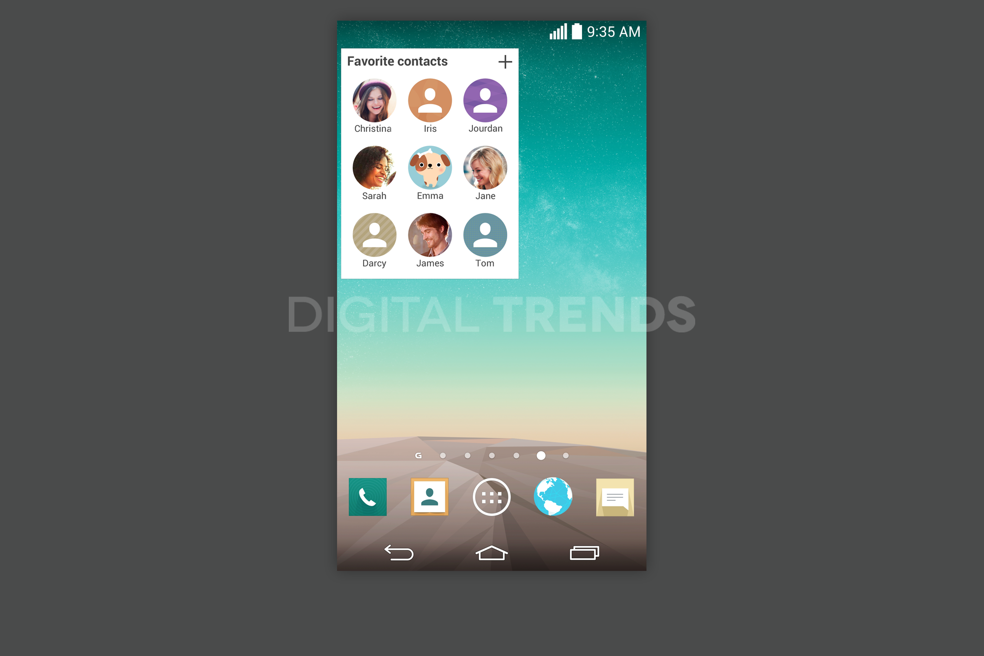 Leaked Screenshots Show Off New UI of the LG G3 - AndroidGuys