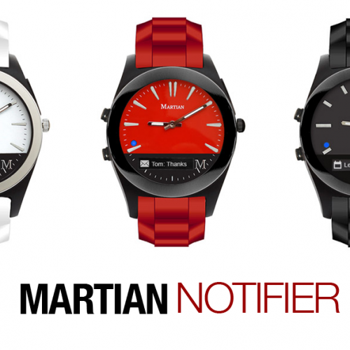 [Deal] Save over 70% on the Martian Notifier Smartwatch